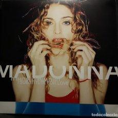 Discos de vinil: MADONNA - DROWNED WORLD/SUBSTITUTE FOR LOVE - MAXISINGLE - ALEMANIA - RARO - NO USO CORREOS. Lote 210236107