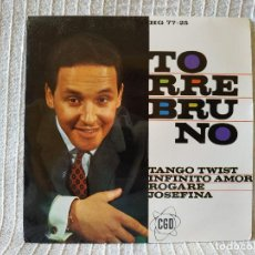 Discos de vinilo: TORREBRUNO - TANGO TWIST/ INFINITO AMOR/ ROGARE/ JOSEFINA EP HISPAVOX 1963 COPIA NUEVA, DE ARCHIVO. Lote 210239515