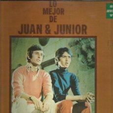 Discos de vinilo: JUAN JUNIOR LO MEJOR + REGALO SORPRESA. Lote 210243566