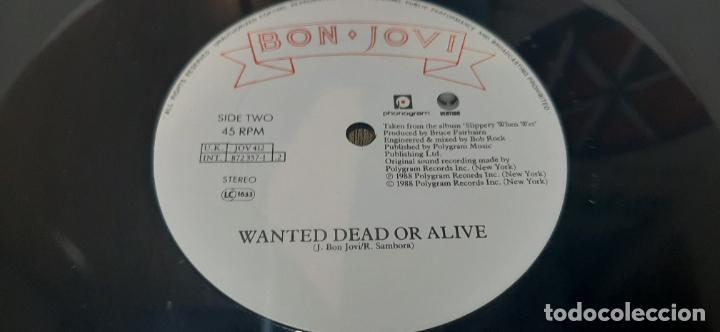 Discos de vinilo: BON JOVI -BORN TO BE MY BABY- (1988) MAXI-SINGLE - Foto 5 - 210243930