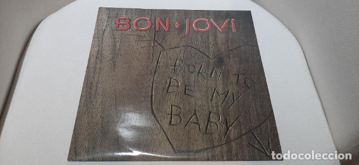 BON JOVI -BORN TO BE MY BABY- (1988) MAXI-SINGLE (Música - Discos de Vinilo - Maxi Singles - Heavy - Metal)