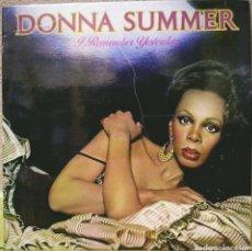 Disques de vinyle: DONNA SUMMER - I REMEMBER YESTERDAY LP CASABLANCA 1979. Lote 210245452