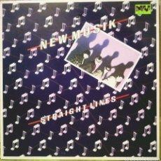 "Discos de vinilo: NEW MUSIK - STRAIGHT LINES 10"" EP NU DISK 1979. Lote 210246512"