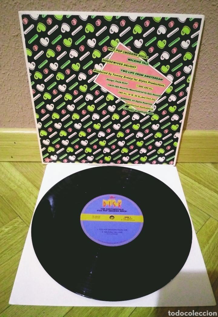 "Discos de vinilo: THE CONTINENTALS - FIZZ POP (MODERN ROCK) 10"" EP Nu Disk 1979 - Foto 2 - 210246715"