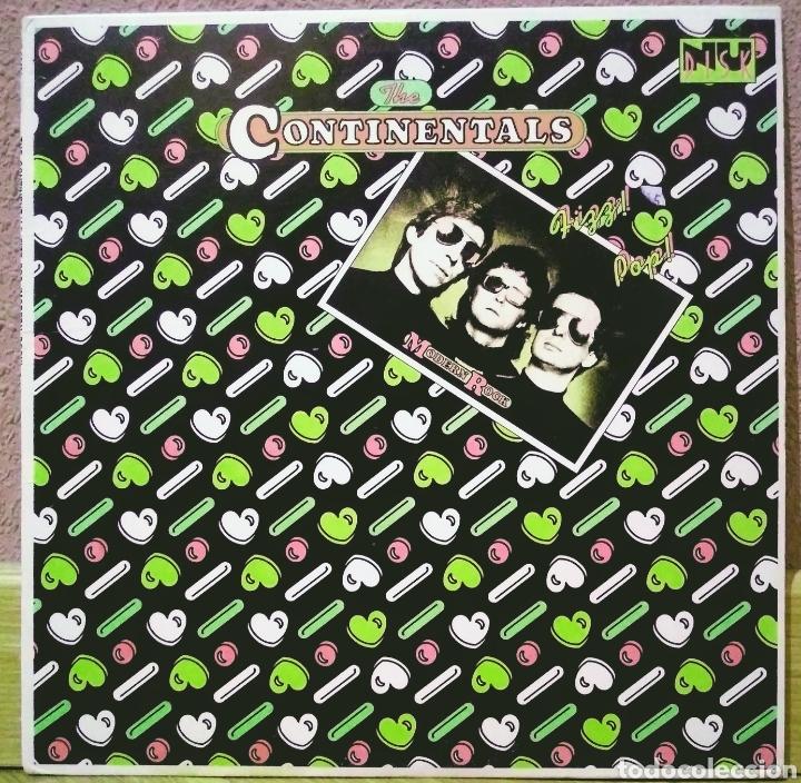 """THE CONTINENTALS - FIZZ POP (MODERN ROCK) 10"""" EP NU DISK 1979 (Música - Discos de Vinilo - EPs - Pop - Rock - New Wave Extranjero de los 80)"""