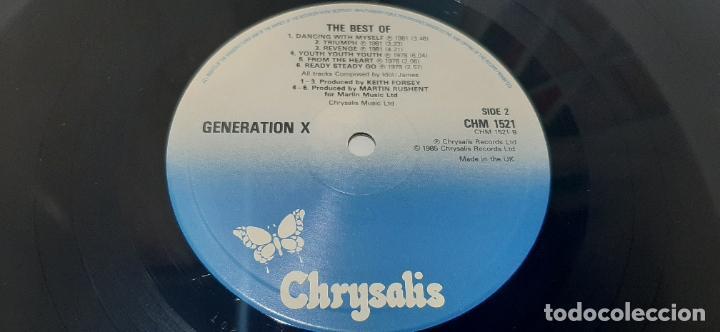 Discos de vinilo: GENERATION X -THE BEST OF GENERATION X- (1985) LP DISCO VINILO - Foto 7 - 210246815