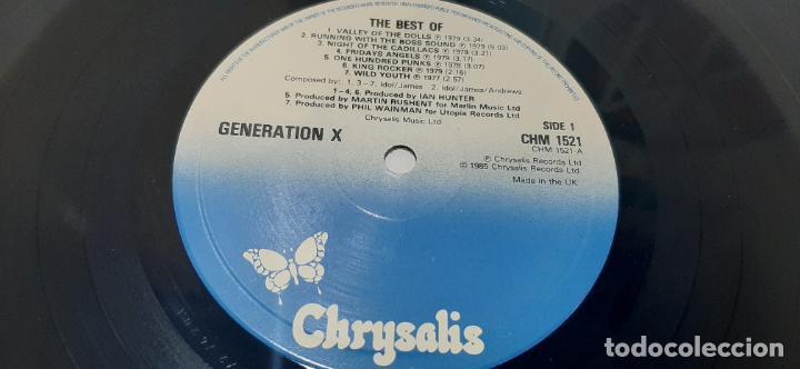 Discos de vinilo: GENERATION X -THE BEST OF GENERATION X- (1985) LP DISCO VINILO - Foto 8 - 210246815