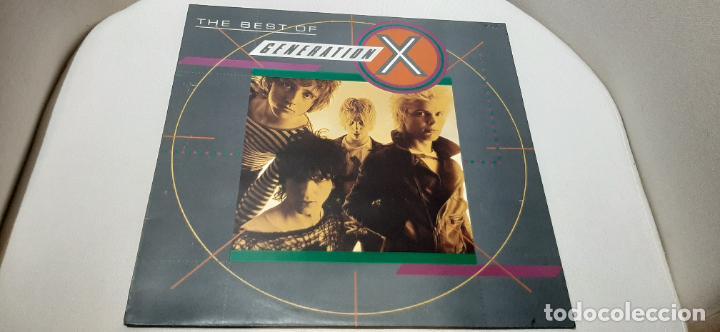 GENERATION X -THE BEST OF GENERATION X- (1985) LP DISCO VINILO (Música - Discos - LP Vinilo - Punk - Hard Core)