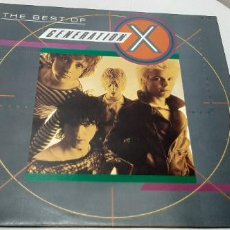 Discos de vinilo: GENERATION X -THE BEST OF GENERATION X- (1985) LP DISCO VINILO. Lote 210246815