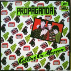 "Discos de vinilo: PROPAGANDA - CALLING ON MOSCOW 10"" EP NU DISK 1979. Lote 210246902"