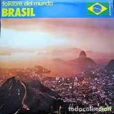 Discos de vinilo: FOLKLORE DEL MUNDO - BRASIL - VOLUMEN 21. Lote 210251860