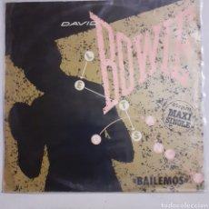 Discos de vinilo: DAVID BOWIE. BAILEMOS. MAXISINGLE.1973 ESPAÑA. 10C 052-086.660. DISCO VG+. CARÁTULA VG+.. Lote 210252390