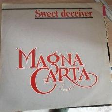 Discos de vinilo: LP - MAGNA CARTA - SWEET DECEIVER - DISCOS VICTORIA 1983. Lote 210258193