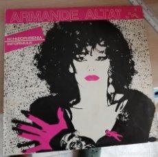 Discos de vinilo: ARMANDE ALTAIR, SCHIZOPHRENIA (EDIGSA 1982) MAXI. Lote 210258198