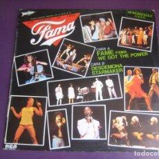 Discos de vinilo: LOS CHICOS DE FAMA – FAMA MAXI SINGLE RCA 1983 - 4 TEMAS -SERIE TVE 80'S - FUNK DISCO POP 80'S. Lote 210262843