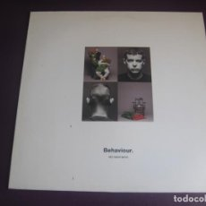 Discos de vinil: PET SHOP BOYS – BEHAVIOUR LP PARLOPHONE 1990 EDICION ESPAÑOLA - SYNTH POP 80'S 90'S SIN USO. Lote 210266725