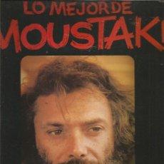 Discos de vinilo: MOUSTAKI LO MEJOR. Lote 210270113