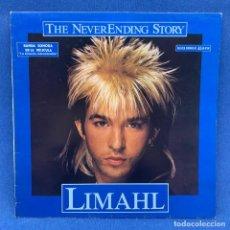 Discos de vinilo: MAXI SINGLE LIMAHL - THE NEVERENDING STORY - ESPAÑA - AÑO 1978 - BANDA SONORA. Lote 210275190