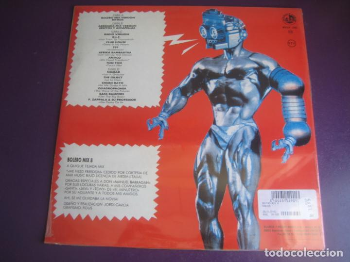 Discos de vinilo: Bolero Mix 8 DOBLE LP BLANCO Y NEGRO 1991 PRECINTADO - ELECTRONICA TECHNO MAKINA HOUSE - Foto 2 - 210275403