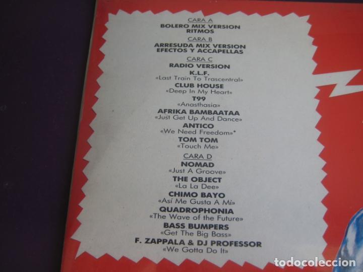 Discos de vinilo: Bolero Mix 8 DOBLE LP BLANCO Y NEGRO 1991 PRECINTADO - ELECTRONICA TECHNO MAKINA HOUSE - Foto 3 - 210275403