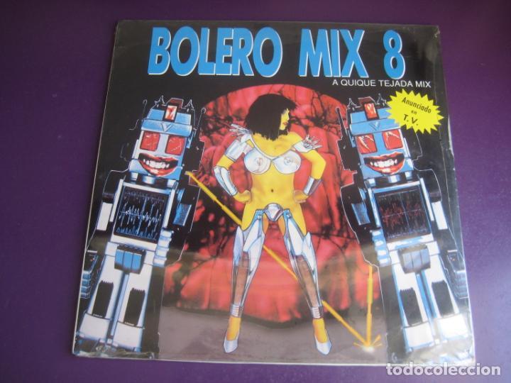 BOLERO MIX 8 DOBLE LP BLANCO Y NEGRO 1991 PRECINTADO - ELECTRONICA TECHNO MAKINA HOUSE (Música - Discos - LP Vinilo - Techno, Trance y House)