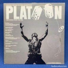 Discos de vinilo: LP PLATOON - ORIGINAL MOTION PICTURE SOUNDTRACK - VARIOUS - ESPAÑA - AÑO 1987. Lote 210277790