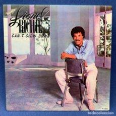 Discos de vinilo: LP LIONEL RICHIE - CAN´T SLOW DOWN - DOBLE PORTADA - ESPAÑA - AÑO 1983. Lote 210278018