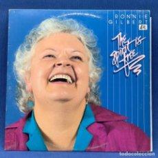 Discos de vinilo: LP RONNIE GILBERT - THE SPIRIT IS FREE + ENCARTE + HOJA ADICIONAL - USA - AÑO 1983. Lote 210278356