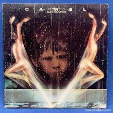Discos de vinilo: LP CAMEL - RAIN DANCES + ENCARTE - USA - AÑO 1977. Lote 210279012