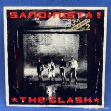 Discos de vinilo: LP SANDINISTA ! - THE CLASH - TRIPLE LP - 3 LP´S - ESPAÑA - AÑO 1980. Lote 210281705