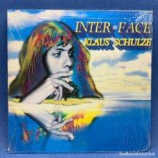 Discos de vinilo: LP INTER FACE - KLAUS SCHULZE - GERMANY , ALEMANIA - AÑO 1985. Lote 210282441