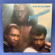 Discos de vinilo: LP IMAGINATION - JUST AN ILUSION - ESPAÑA - AÑO 1982. Lote 210283420