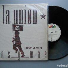 Discos de vinilo: LA UNION *MÁS Y MÁS* MAXI SINGLE 1988 VG+/VG+. Lote 210284535