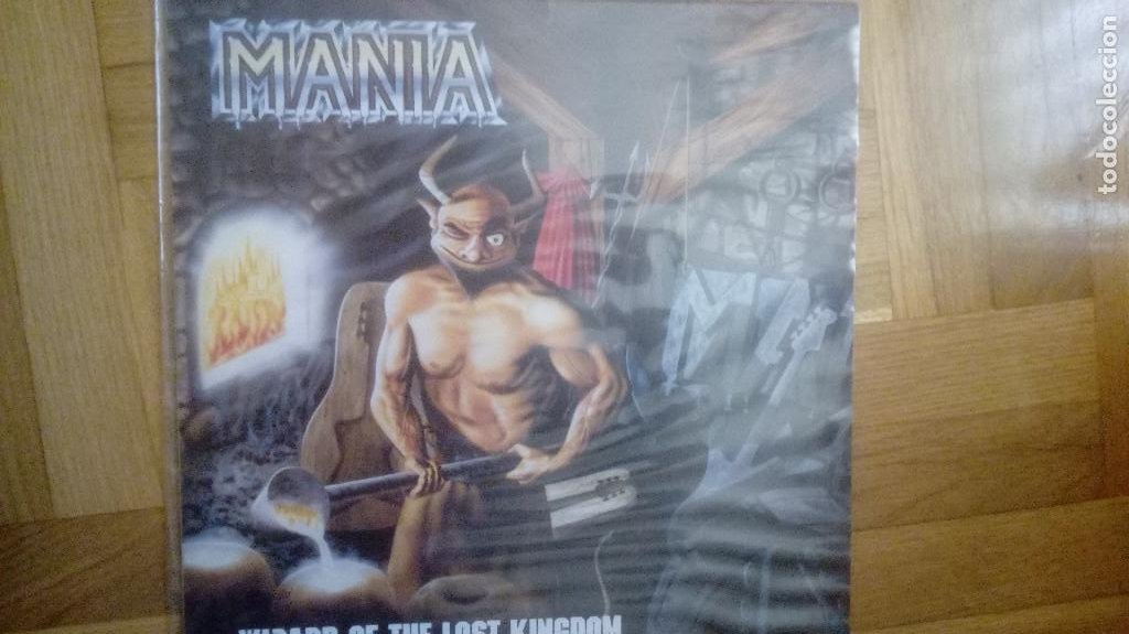 Discos de vinilo: MANIA. WIZARD OF THE LOST KINGDOM. 1988 LP - Foto 1 - 210307297