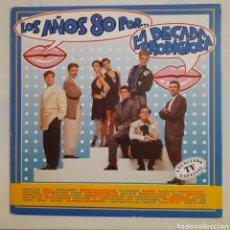 Discos de vinilo: LA DECADA PRODIGIOSA. LOS AÑOS 80. 080 7912361. 1988. DISCO VG+. CARÁTULA VG+.. Lote 210308070