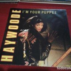 Discos de vinilo: VINILO MAXI SINGLE ( HAYWOODE ?– I'M YOUR PUPPET ) 1987 CBS CON POSTER GIGANTE. Lote 210311517