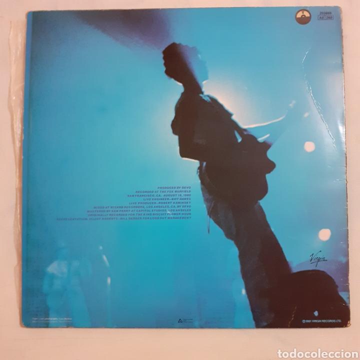 Discos de vinilo: Devo. Live. Francia 1971. 203866 AE 260. Disco VG+. Carátula VG+. - Foto 2 - 210312436