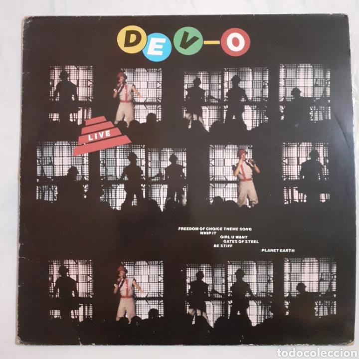 DEVO. LIVE. FRANCIA 1971. 203866 AE 260. DISCO VG+. CARÁTULA VG+. (Música - Discos - LP Vinilo - Techno, Trance y House)