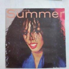 Discos de vinilo: DONNA SUMMER. 1982 ESPAÑA. FUNDA MUY DETERIORADA. DISCO VG+.. Lote 210313666
