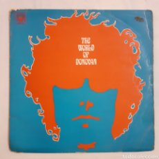 Discos de vinilo: DONOVAN. THE WORLD OF... 1965 ENGLAND. MAL 1168.. Lote 210315741
