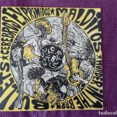 """Discos de vinilo: CEREBROS EXPRIMIDOS, BULLETS, MALDITOS, MURDER IN THE BARN: EL GARITO CAFÉ VOL.1 - EP 7"""" (1990). Lote 210318361"""