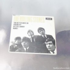Discos de vinilo: THE ROLLING STONES ---YOU BETTER MOVE ON & BYE BYE JOHNNY & MONEY--U.K.1964 --( VG+++ ). Lote 210321406