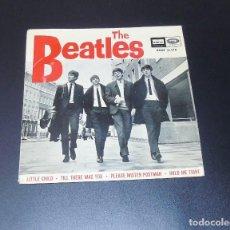 Discos de vinilo: THE BEATLES --LITTLE CHILD & PLEASE MISTER POSTMAN + 2 LABEL AZUL FUERTE ( MINT OR ( M- ). Lote 210323785