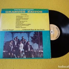 Discos de vinilo: LP ARMANDO RANGEL - MARIACHI MAYA DE JOSE CRUZ R. US - GRANDES EXITOS - VG+/EX Ç. Lote 210328231