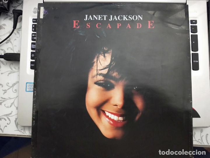 "JANET JACKSON - ESCAPADE (12"", SINGLE) 1990.SELLO:A&M RECORDS CAT. Nº: 390 490-1 (Música - Discos de Vinilo - Maxi Singles - Rap / Hip Hop)"