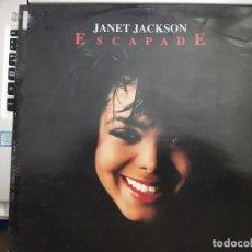"Discos de vinilo: JANET JACKSON - ESCAPADE (12"", SINGLE) 1990.SELLO:A&M RECORDS CAT. Nº: 390 490-1. Lote 210328910"