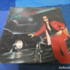Discos de vinilo: LP ROCKY BURNETTE THE SON OF ROCK AND ROLL USA 1980 BUEN ESTADO. Lote 210331316