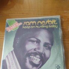 Discos de vinilo: DISCO VINILO SINGLE SAM NESBIT. Lote 210332483