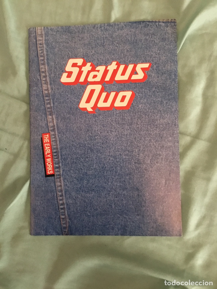 Discos de vinilo: Lp status quo The Early works 5 Lp dificil de encontrar - Foto 18 - 210333765