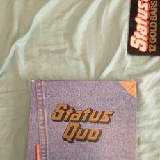 Discos de vinilo: LP STATUS QUO THE EARLY WORKS 5 LP DIFICIL DE ENCONTRAR. Lote 210333765
